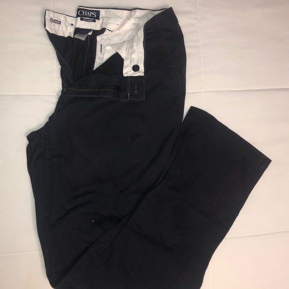 Chaps Other - Navy CHAPS trousers